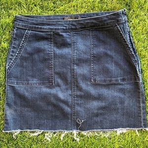 PrAna denim skirt size 4